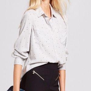 Target A New Day Star Print Lighweight Shirt